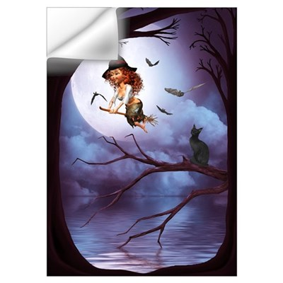 Little Witch 1 Wall Art Wall Decal