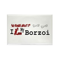 Borzoi Gifts Rectangle Magnet (10 pack)
