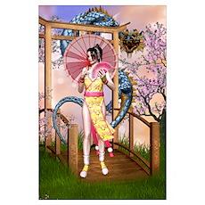 Orient dream Wall Art Poster