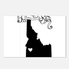 Boise.png Postcards (Package of 8)