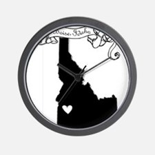Boise.png Wall Clock