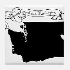 Spokane.png Tile Coaster
