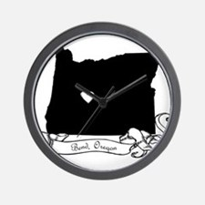 Bend.png Wall Clock