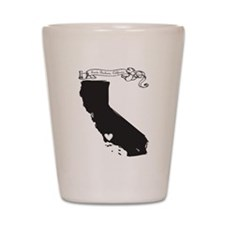 Santa Barbara.png Shot Glass