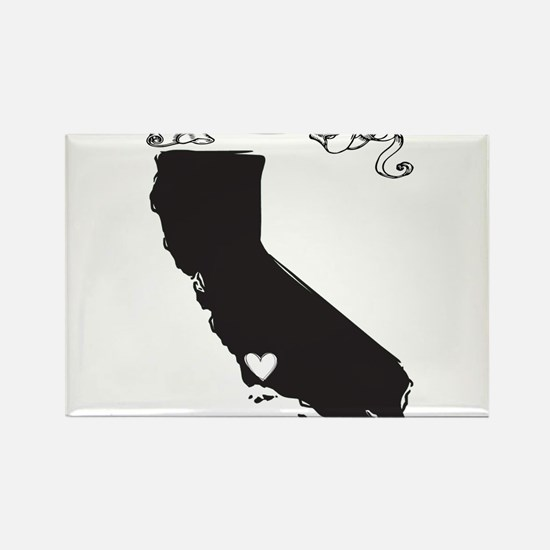 Santa Barbara.png Rectangle Magnet
