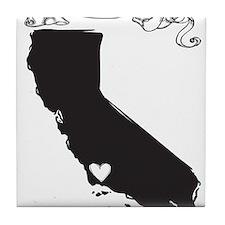 Santa Barbara.png Tile Coaster