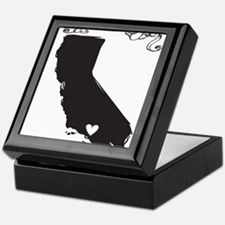 Los Angeles.png Keepsake Box