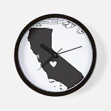 Fresno.png Wall Clock