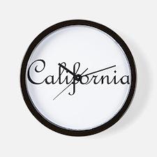 California.png Wall Clock