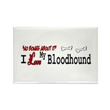 Bloodhound Gifts License Plate Frame Rectangle Mag