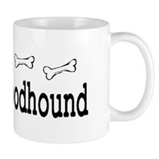 Bloodhound Gifts License Plate Frame Mug