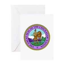 The Great Seal of the Chickasaw Nation Greeting Ca
