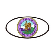 The Great Seal of the Chickasaw Nation Patches