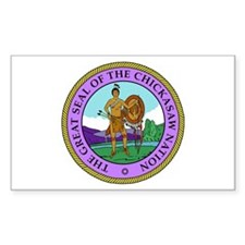 The Great Seal of the Chickasaw Nation Decal
