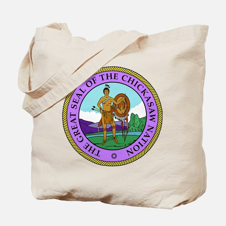 The Great Seal of the Chickasaw Nation Tote Bag