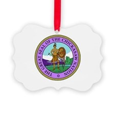 The Great Seal of the Chickasaw Nation Ornament