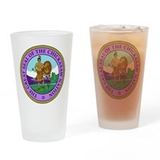The Great Seal of the Chickasaw Nation Drinking Gl