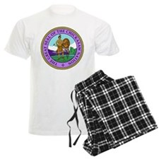 The Great Seal of the Chickasaw Nation Pajamas