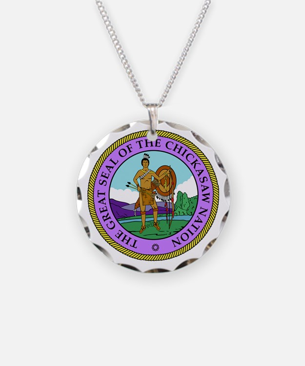 The Great Seal of the Chickasaw Nation Necklace