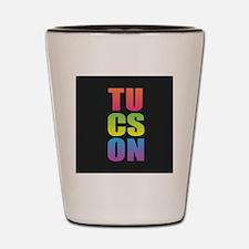 Tucson Black Rainbow Shot Glass