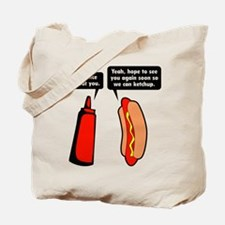 Meat Ketchup Tote Bag