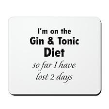 Gin & Tonic Diet Mousepad