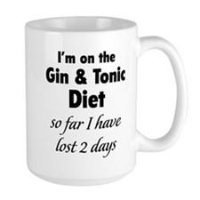 Gin & Tonic Diet Mug