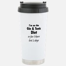 Gin & Tonic Diet Stainless Steel Travel Mug