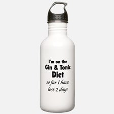 Gin & Tonic Diet Sports Water Bottle
