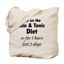 Gin & Tonic Diet Tote Bag