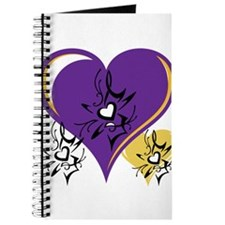 OYOOS Three Hearts design #1 Journal