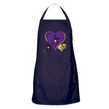 OYOOS Three Hearts design #1 Apron (dark)