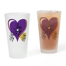 OYOOS Three Hearts design #1 Drinking Glass