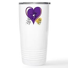 OYOOS Three Hearts design #1 Travel Mug