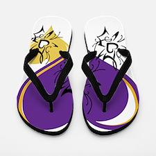 OYOOS Three Hearts design #1 Flip Flops