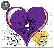 OYOOS Three Hearts design #1 Puzzle