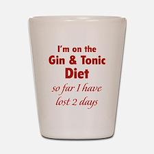 Gin & Tonic Diet Shot Glass