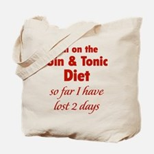 Gin & Tonic Diet Tote Bag