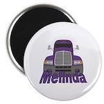 Trucker Melinda Magnet