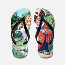 ALICE AND THE DUCHESS Flip Flops