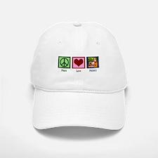 Peace Love Pottery Baseball Baseball Cap
