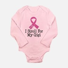 I Stroll For My Gigi Long Sleeve Infant Bodysuit