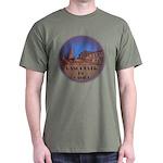Vancouver Souvenir Black T-Shirt Vancouver Artwork