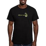 Trolls are vegetarians Men's Fitted T-Shirt (dark)