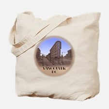 Vancouver BC Souvenir Tote Bag Vancouver Artwork