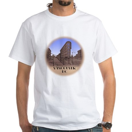 Vancouver BC Souvenir White T-Shirt