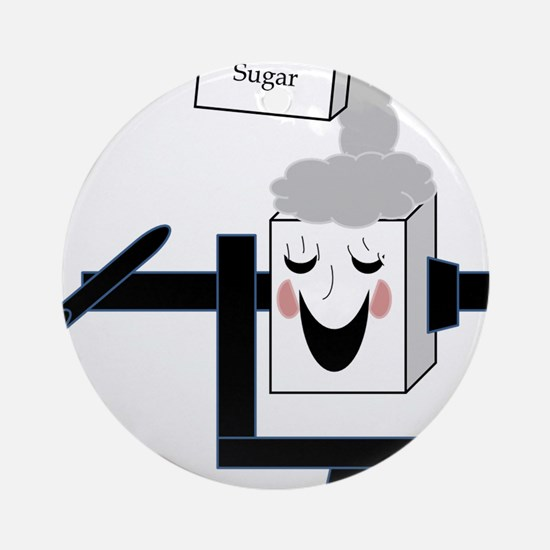 Giggle box Ornament (Round)