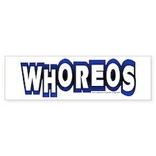 whoreos copy.png Car Sticker