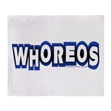 whoreos copy.png Throw Blanket