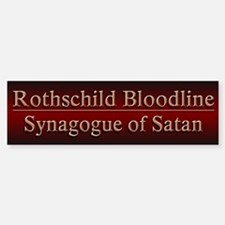 Rothschilds Exposed - Bumper Bumper Sticker